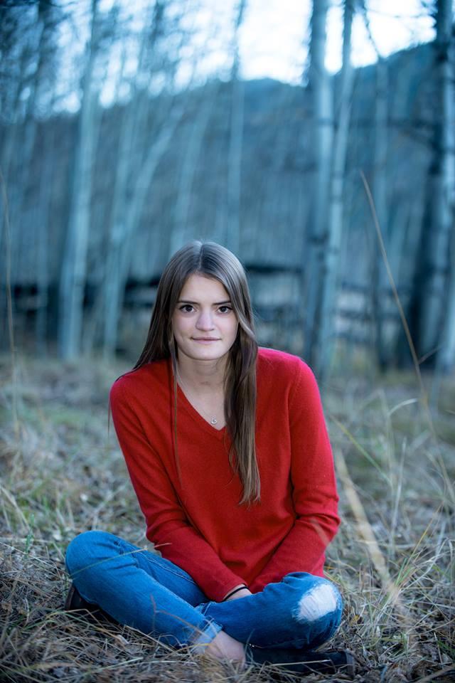 Senior Mackenzie Langley