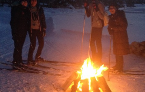 A Frozen Night On Skis Warmed by the Community