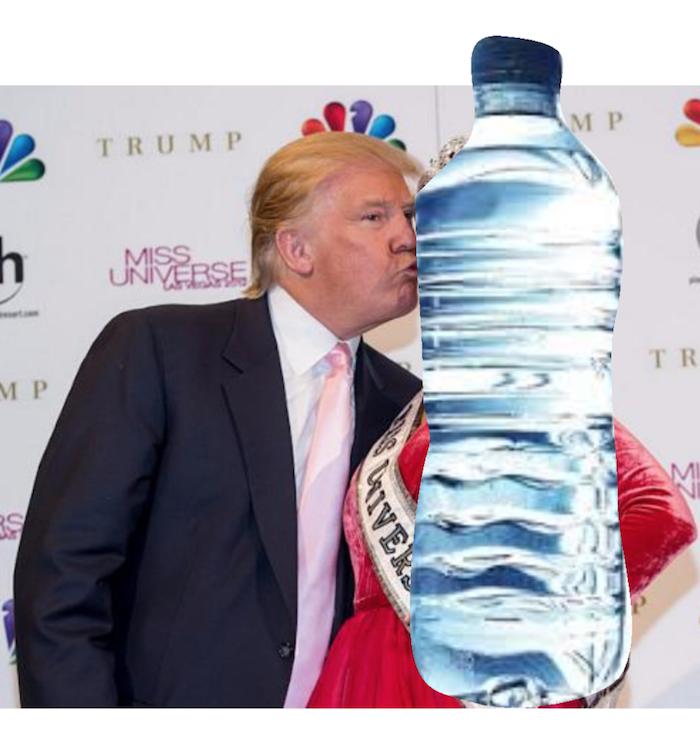 Lump+kisses+his+true+love%2C+plastic+water+bottles.+