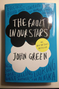 Cover of The Fault In Our Stars.