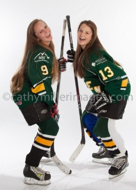 Sophomore Brooke Pisani and junior Jessica Tyler have both been playing hockey since before 2nd grade and this year's team is one of the most successful they've ever been a part of.
