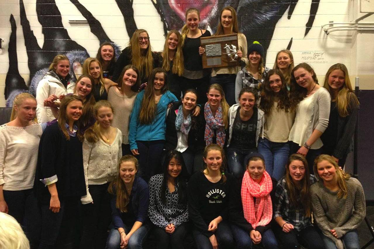 AHS Skiers taking the 2nd place as of the 2013/2014 season