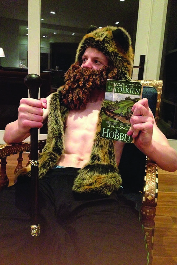 A+regular+Hobbit+fanatic+relaxes+with+his+favorite+book.