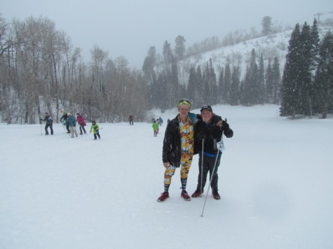 Alex Horn and Ian Sharp, AHS class of 2012, competed in the Hike for Hope Sunday, January 11th.