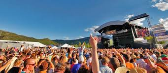 Concertgoers enjoy some hot new music during the Jazz Aspen Snowmass festival.