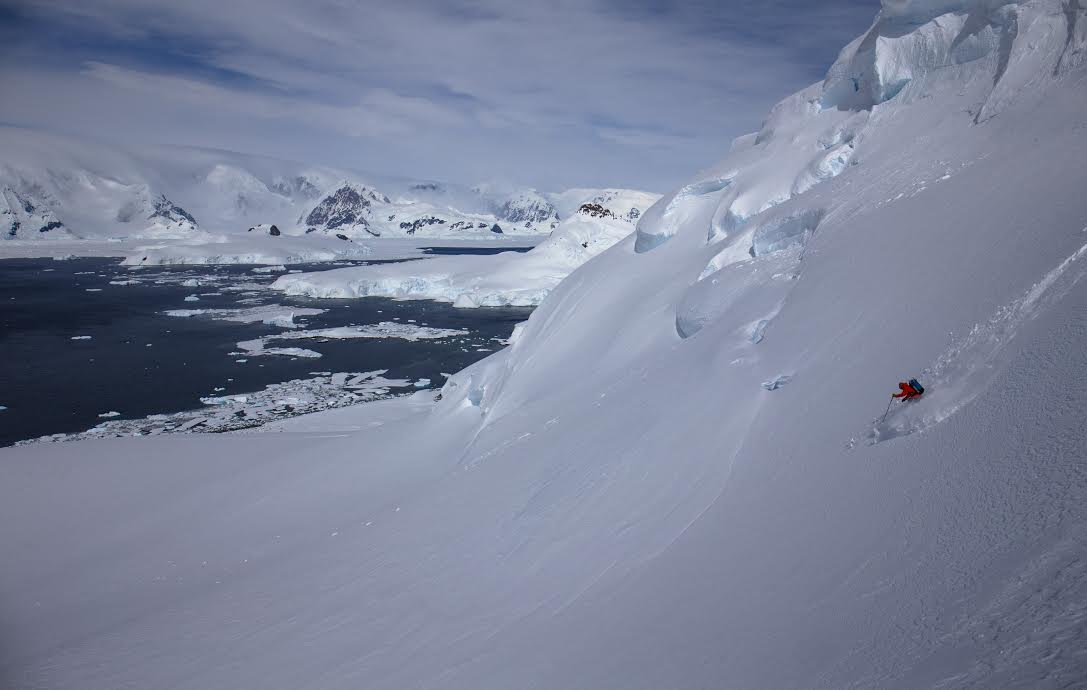 One of Hoffman's many stunning photos from Antartica.