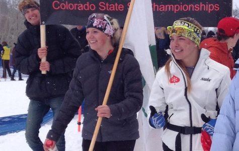 Skiers at States