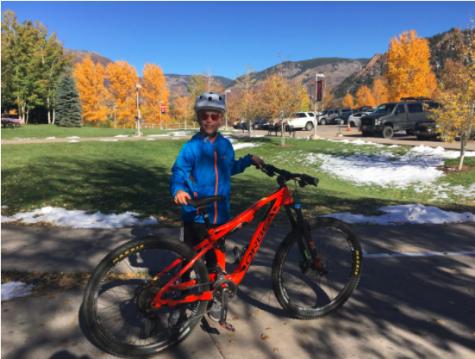 AHS Mountain Bike Team Takes on Young Athletes