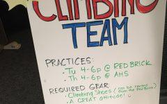 AHS Climbing Team Returns for 2017/18 Season