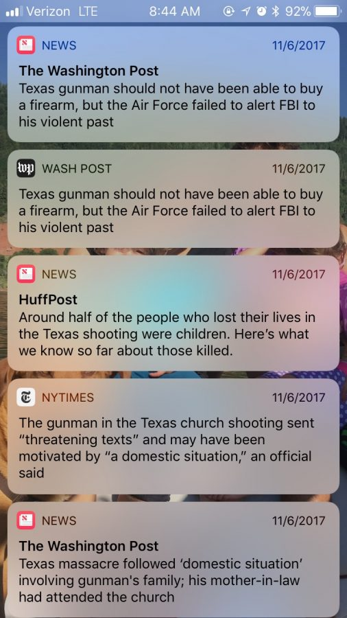 News+reminders+after+the+Texas+shooting