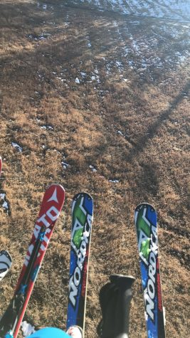 Lack of snow for AHS Skiers