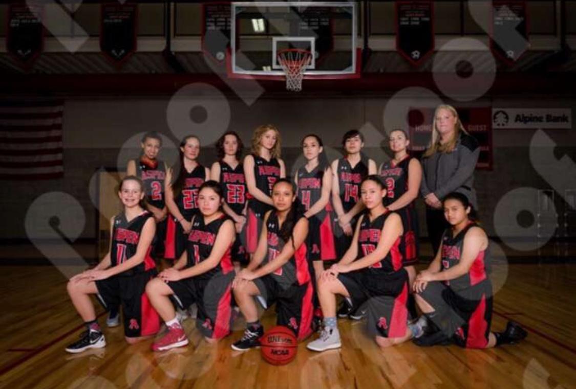 AHS girls basketball team.
