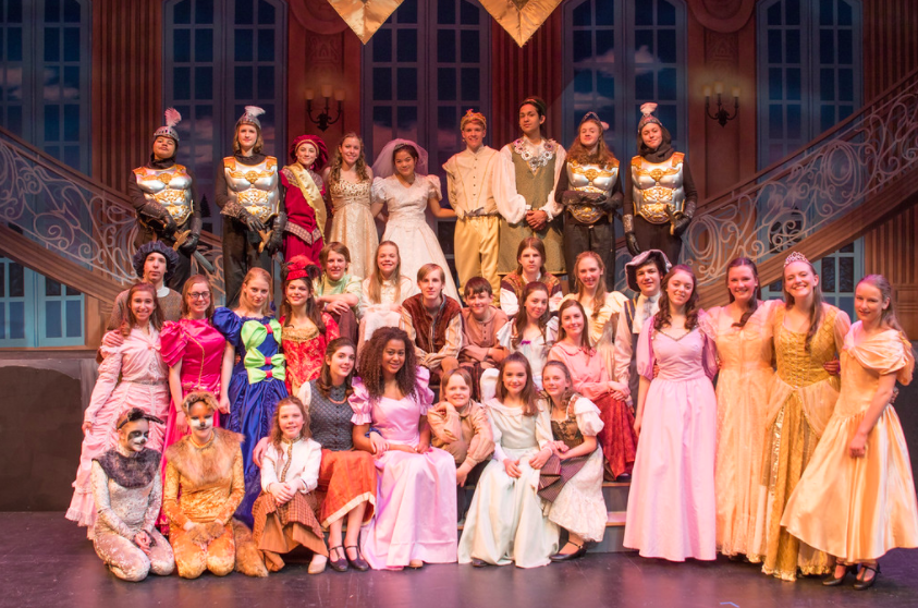 Portrait+of+the+Cinderella+cast+at+dress+rehearsal+on+Wednesday%2C+March+14th.++
