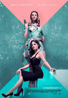 "The film cover for ""A Simple Favor."