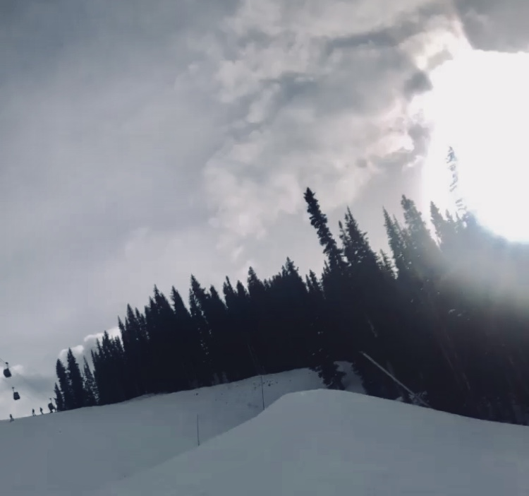 Aspen Mountain on Opening Day 2018/19.