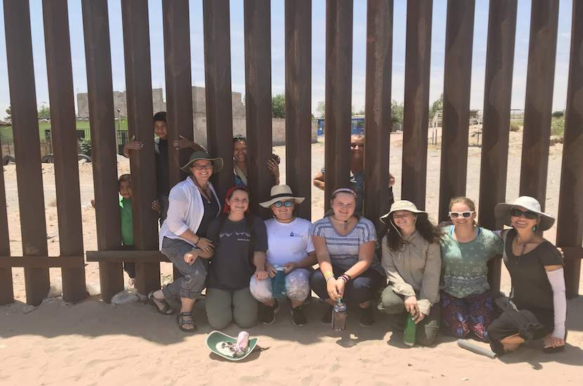 A+group+of+students+visits+the+border.+%28Courtesy+of+World+Leadership+School%29