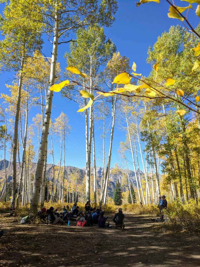 The Aspen Mountain Guide School works to gain their first Leave No Trace certification on Oct. 3.