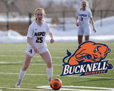 Kelley Francis, pictured above, has committed to Bucknell University to play D1 soccer.
