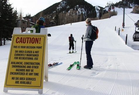 After the closure of all four ski mountains in the Aspen area due to the coronavirus, people are finding other ways to get outdoors and enjoy the snow.