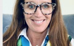 Sarah Strassburger, the new AHS principal.