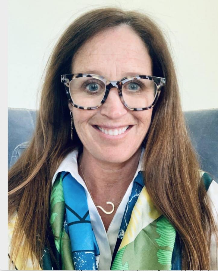 Sarah+Strassburger%2C+the+new+AHS+principal.