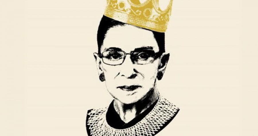 Nicknamed+the+Notorious+RBG%2C+Ginsburg+was+renowned+for+her+work+in+gender+equality.