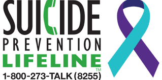Photo of the National Suicide Prevention Lifeline logo
