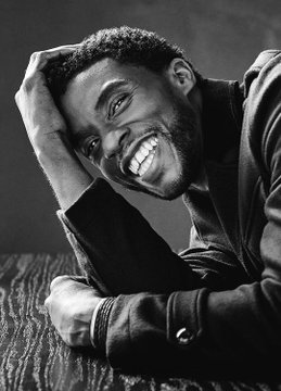 Chadwick Boseman, who died of Stage IV Colon Cancer on August 28, 2020.
