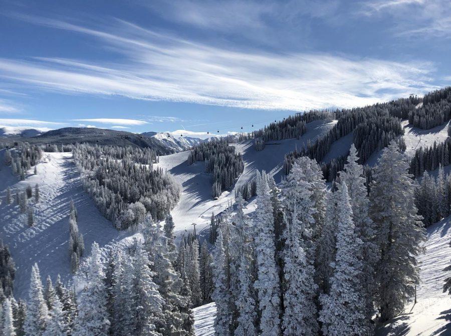 Reminiscing mid-winter 2019/2020 ski season.