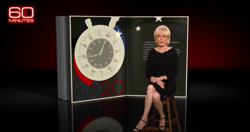 Leslie+Stahl+introduces+her+interview+with+republican+presidential+candidates%2C+Donald+Trump+and+Mike+Pence.