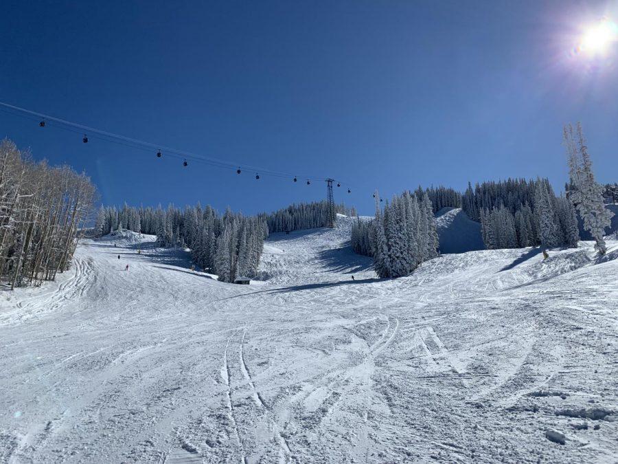 Aspen+Mountain%27s+pristine+ski+runs+open+to+the+public+last+winter.