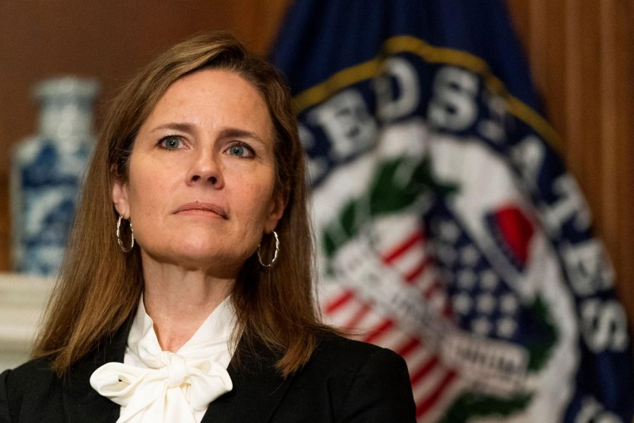 Amy Coney Barrett, the judge replacing Ruth Bader Ginsburg.