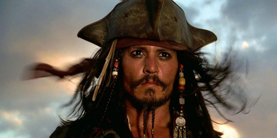 The notorious antiheroic character, Captain Jack Sparrow, from Pirates of the Caribbean.