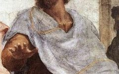 Depiction of Artistotle, Philosopher from C. 384 BCE- C. 322 BCE