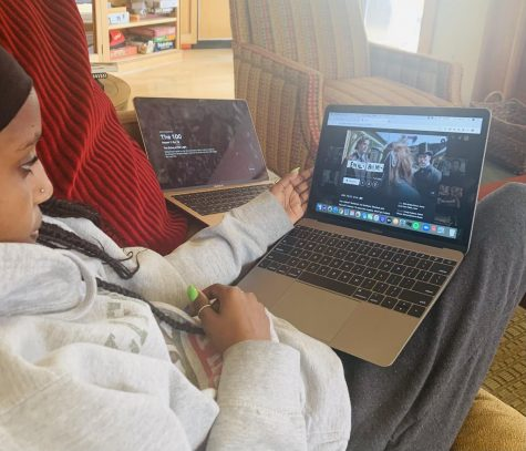 "Tigist Peshek sits down to watch the Netflix film ""Enola Holmes"""