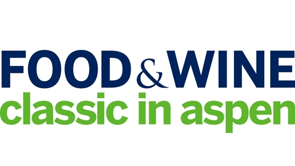 Logo for Aspens hosting of the festival event Food and Wine